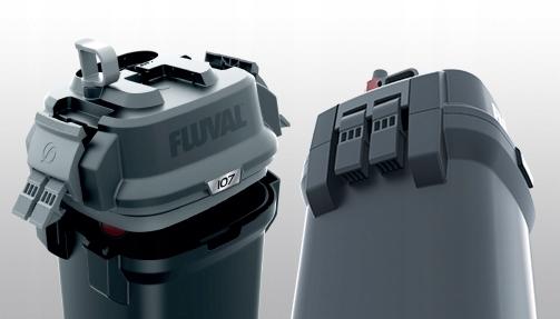 FLUVAL 207 внешний фильтр 780l / h 10W + + + бесплатно! Потребляемая мощность 10 Вт