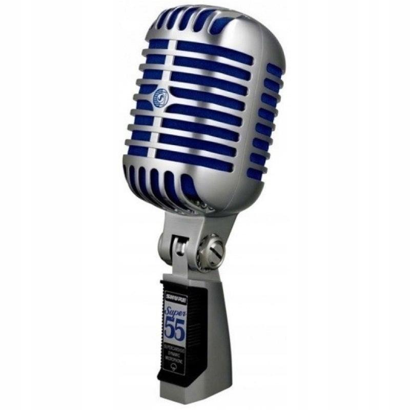 SHURE SUPER 55 ELVIS dynamický mikrofón retro