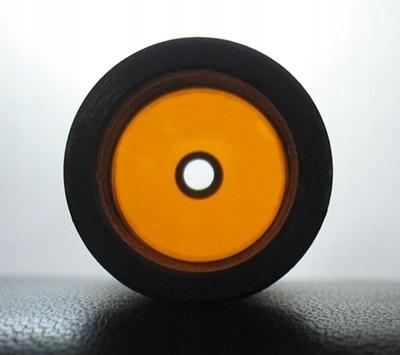Vložky akejkoľvek veľkosti oranžová transparentná
