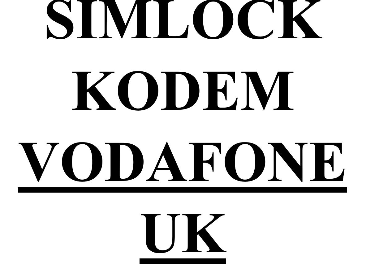 Item UNLOCK HUAWEI,NOKIA,SAMSUNG,SONY, VODAFONE UK