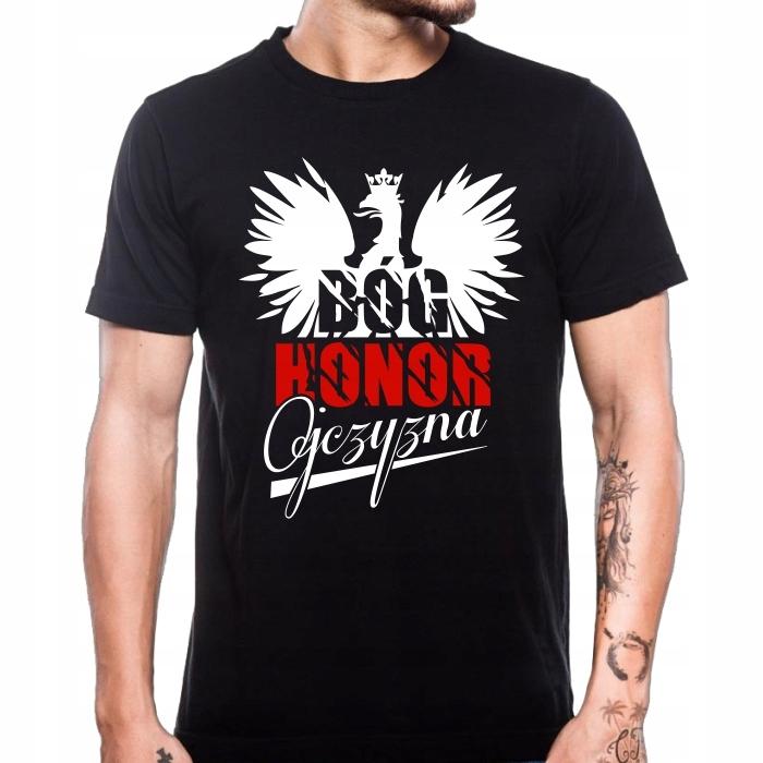 Koszulka Patriotyczna Koszulki Patriotyczne Wilk L 6457610797 Allegro Pl