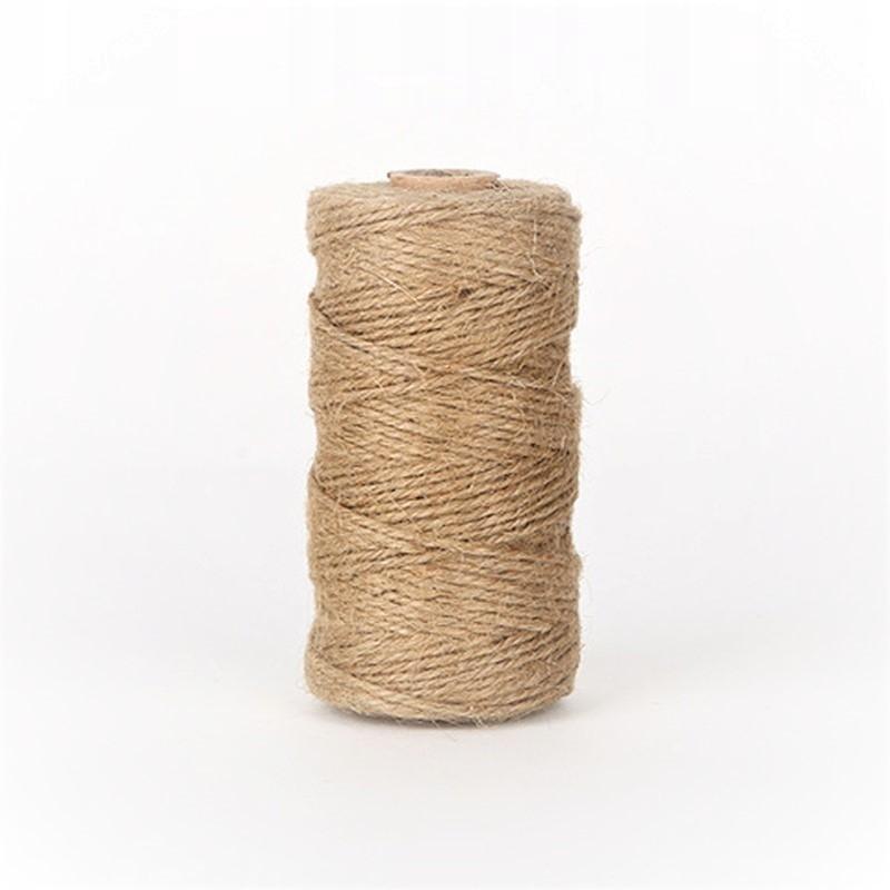 Веревка крафт-бумаги jutowy для упаковки 45м 100г