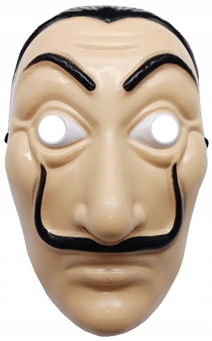 Домашняя бумажная маска La Casa De Papel САЛЬВАДОР ДАЛИ