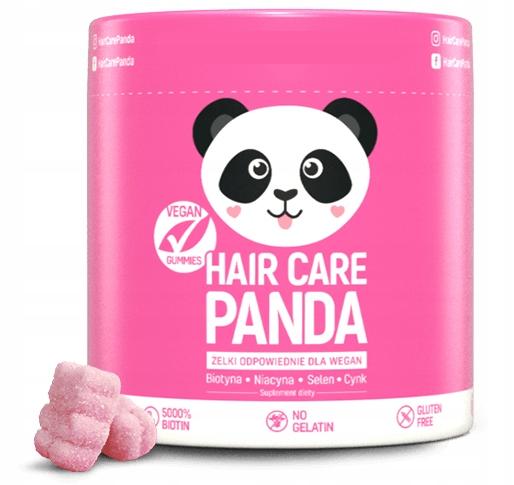 HAIR CARE PANDA - WITAMINY NA WŁOSY 5000% BIOTYNA