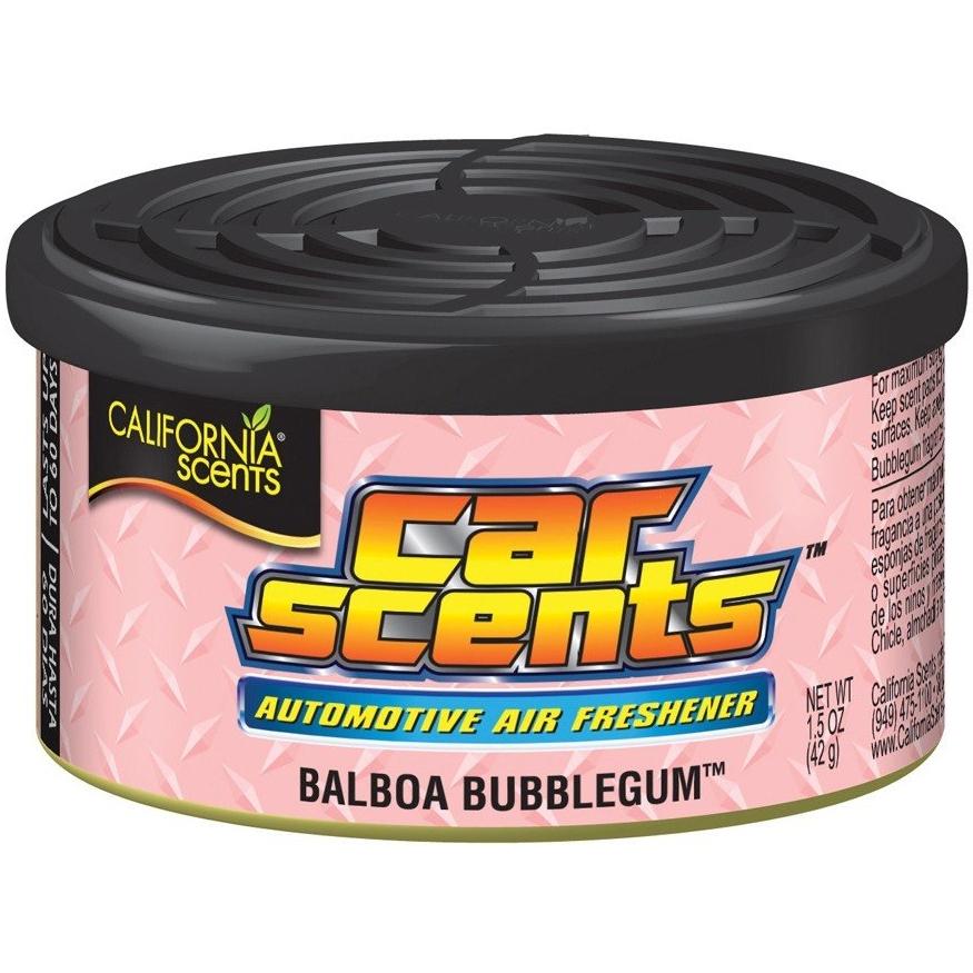 ZAPACH CALIFORNIA SCENTS CAR BALBOA BUBBLEGUM GUMA