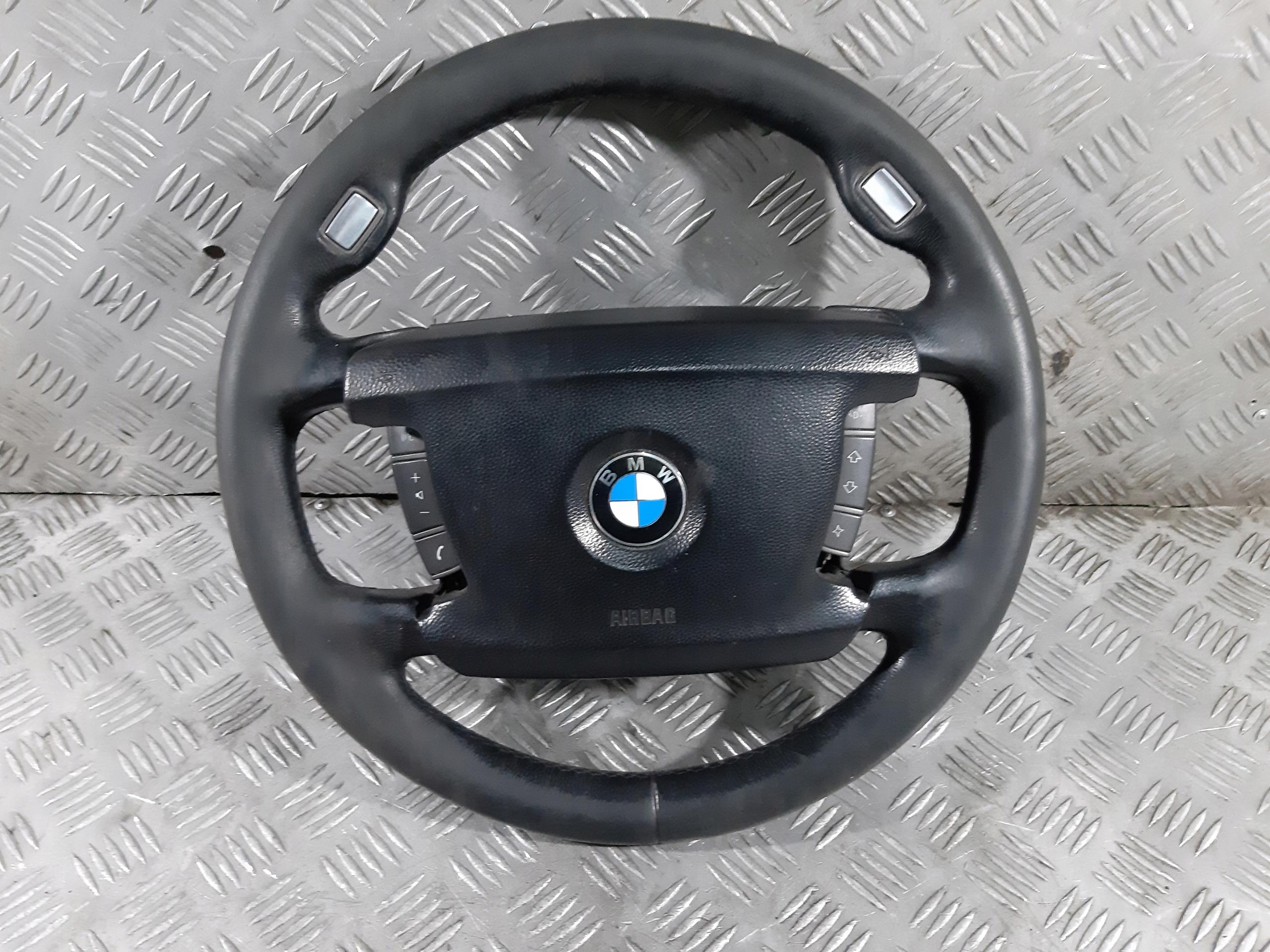bmw e65 e66 06r руль кожа multi + подушка