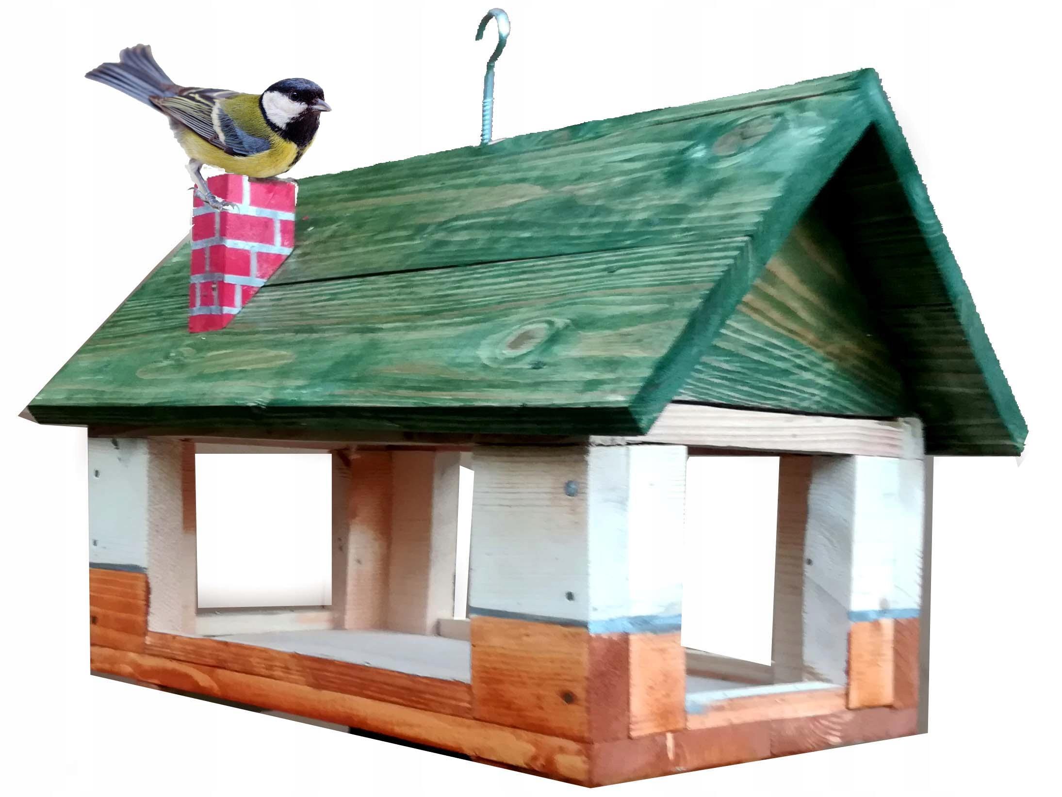 karmnik dla ptaków domek karmik budka