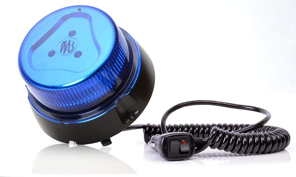 LED Лампа Предупреждения Петух Синий 853.1