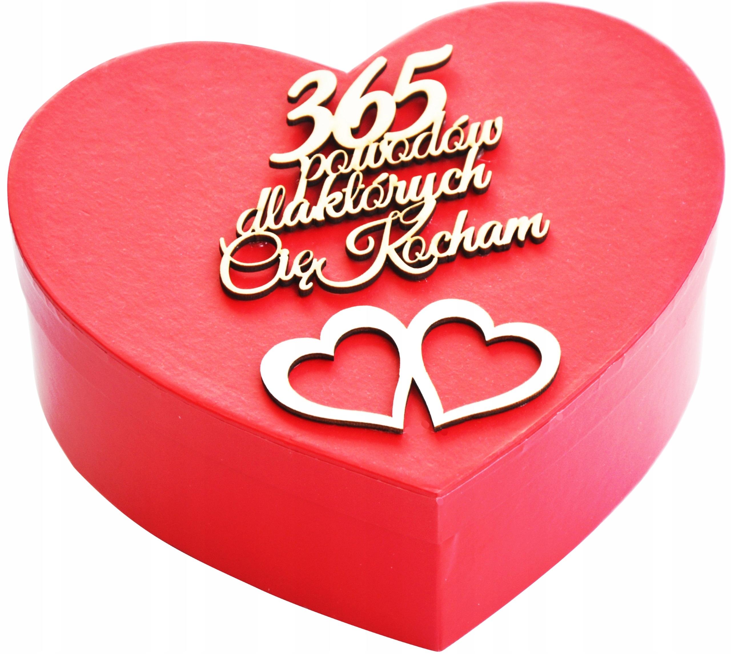 365 Powodow Kocham Cie Super Prezent Na Walentynki 8901937013 Allegro Pl