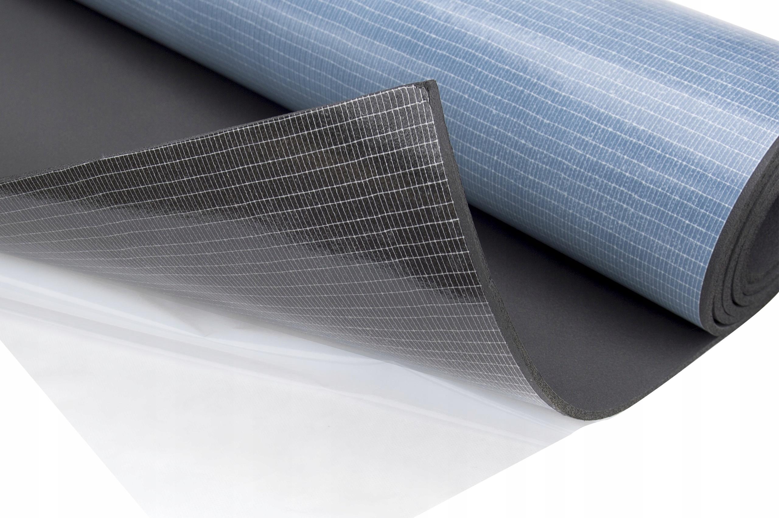 коврик wygłuszająca пена каучуковая z клеем 10mm
