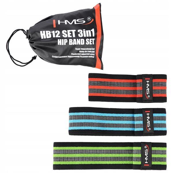 Gumové pásky expandéry pre cvičenie nôh 3 hms gumy