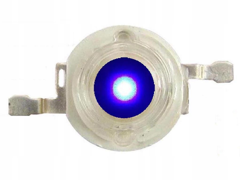 DIODA POWER LED ROYAL BLUE 1W EPISTAR 440-450nm