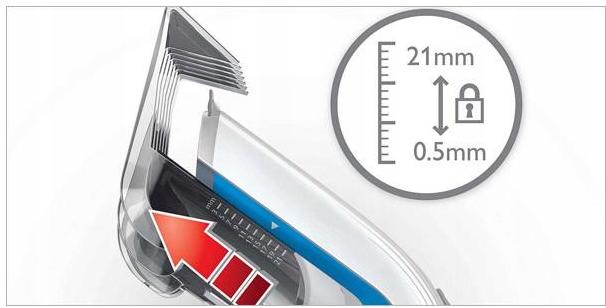 Philips QC5115 / 15 hårklipper. Nettdrift