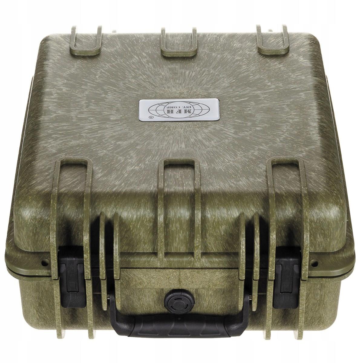 BIG box MFH nepremokavé olivový na zbraň