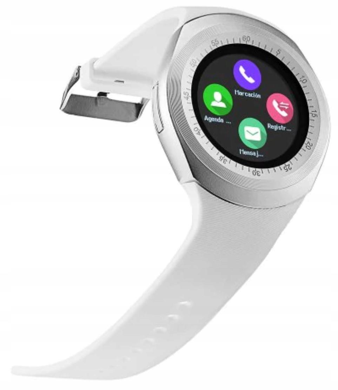 Smartwatch Zegarek X5 Smart Watch Sim Pl Biało-sre