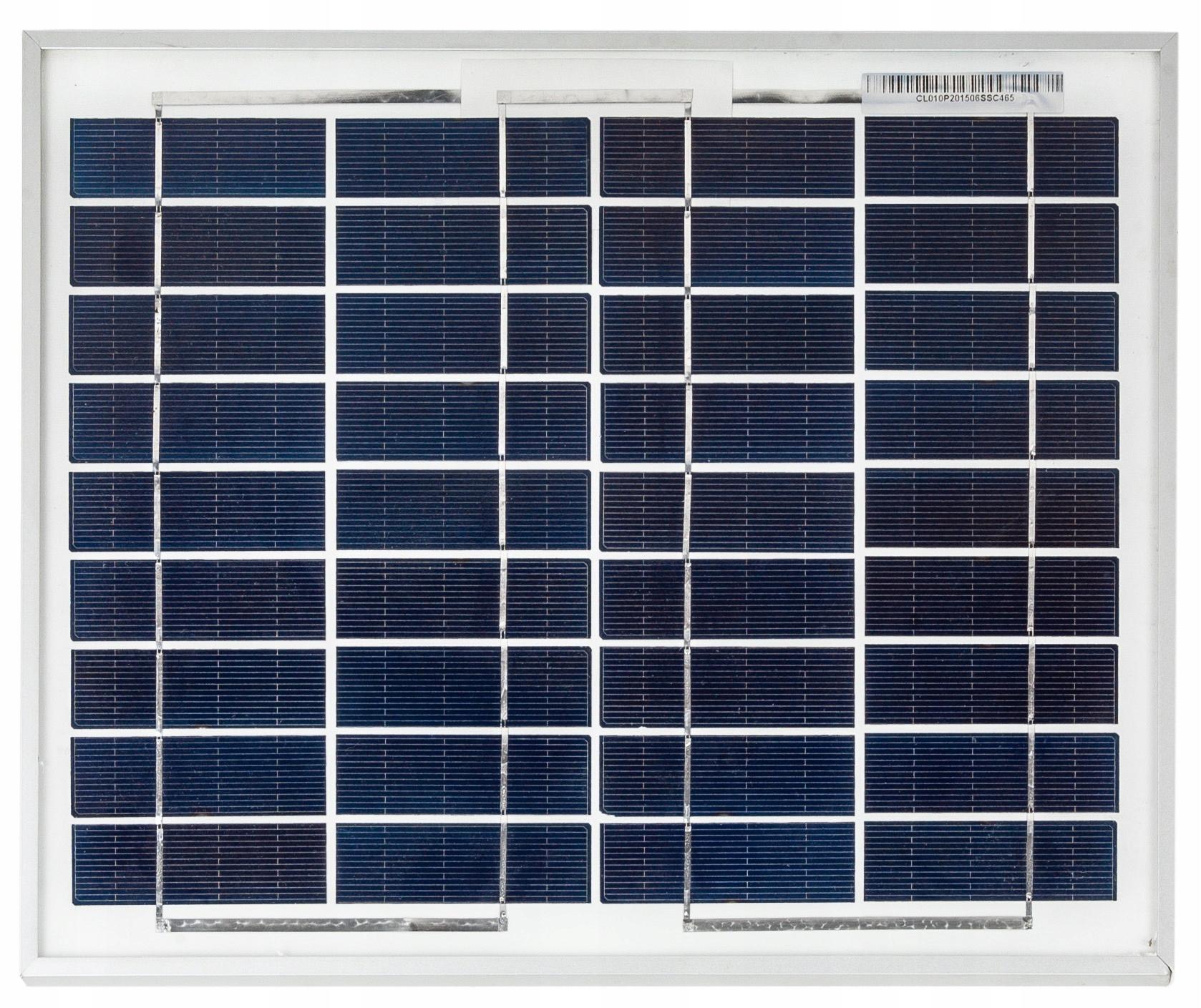 Solárna panelová batéria 10W 12V SOLAR POLI