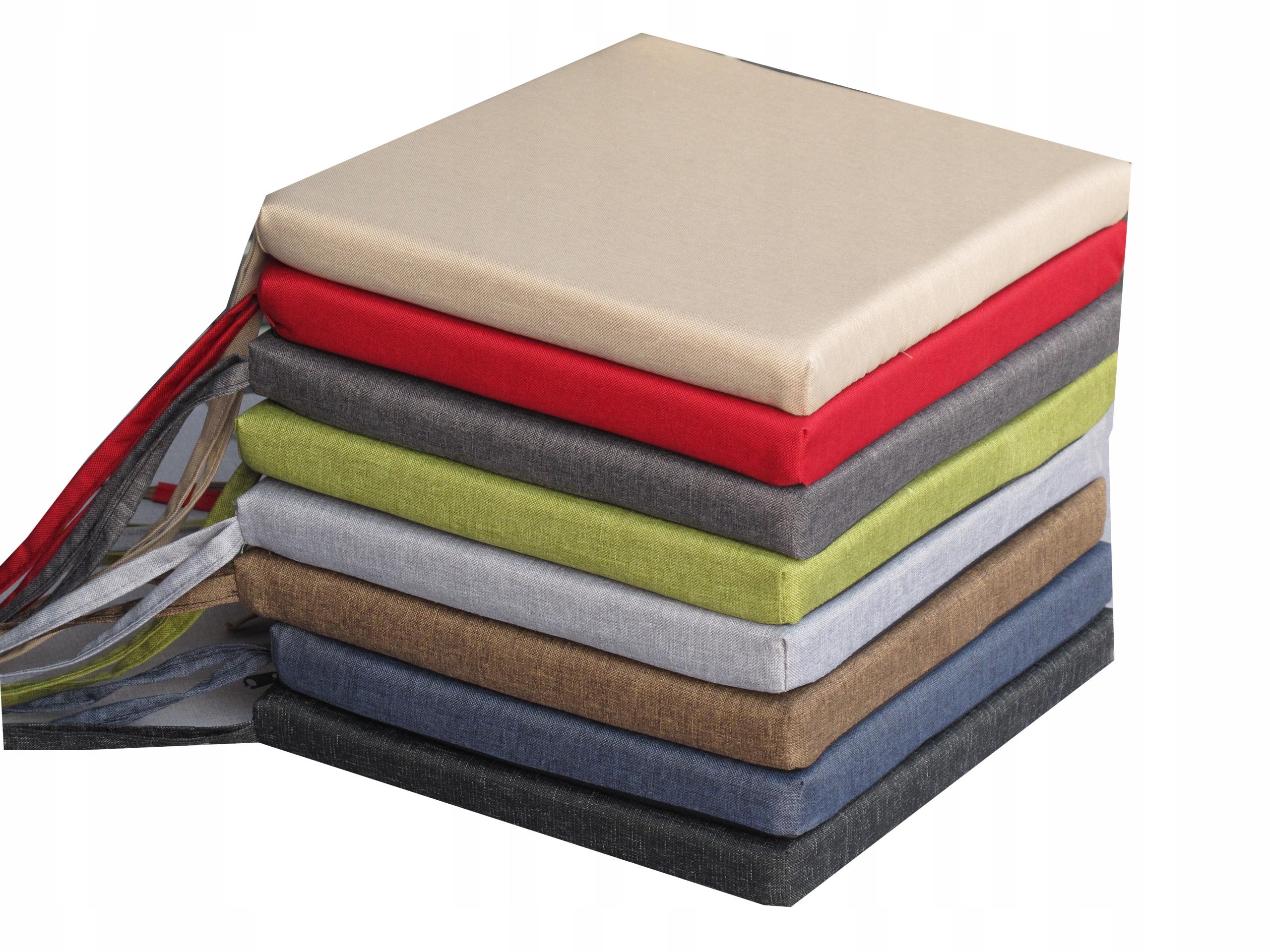 Poduszka na krzesła 40x35x4 wodoodporny 8 kolorów