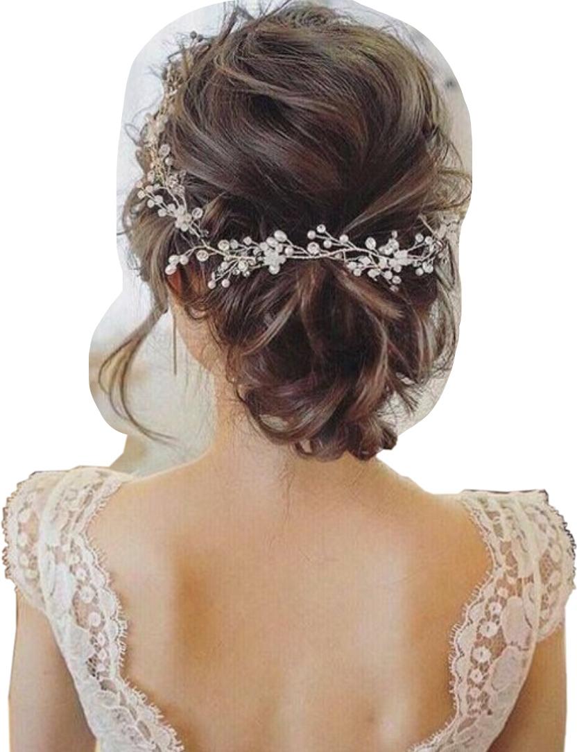 Item Sprig dress, tiara tiara wedding Silver Gold HIT