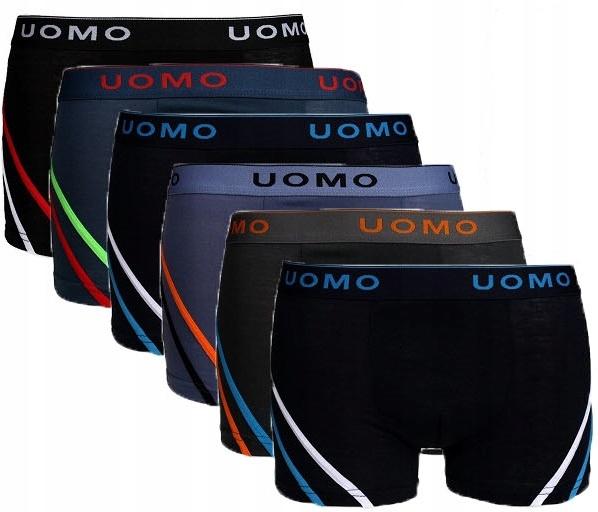 6x мужские боксеры хлопок UOMO XL