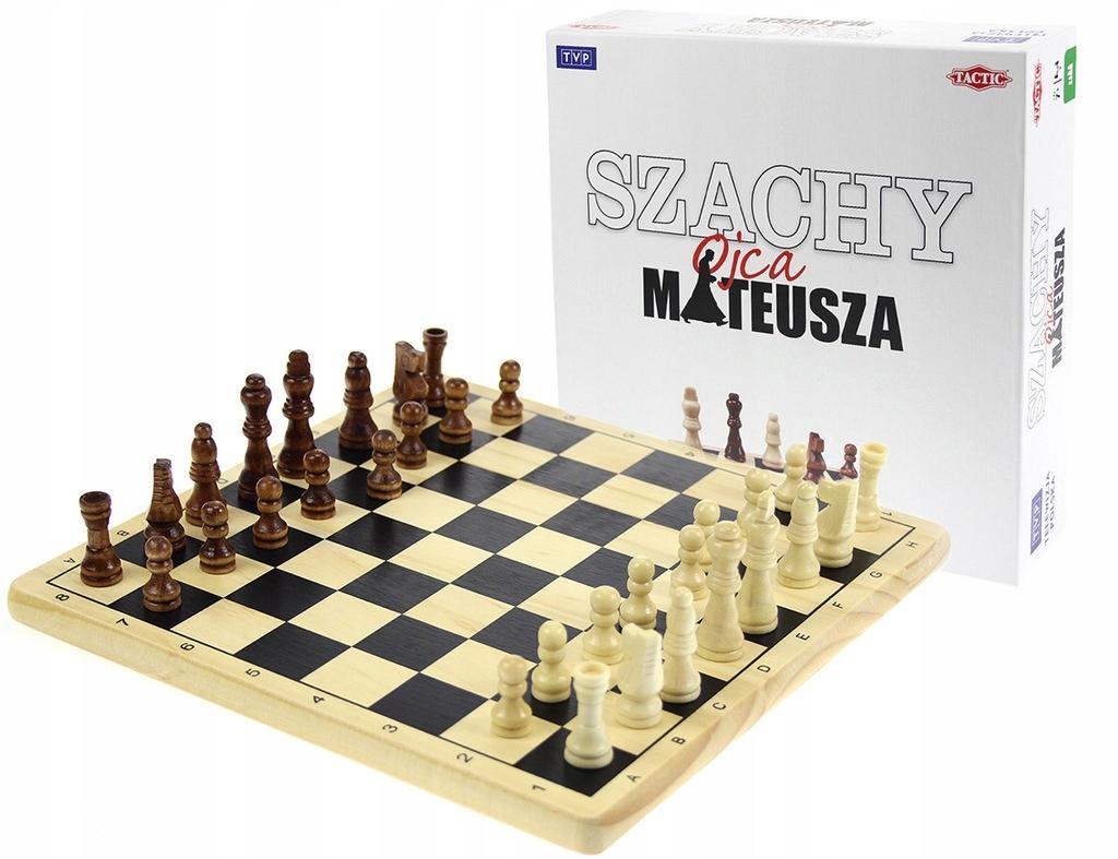 Hra takctická TVP Hit TV Chess Otec Matthew