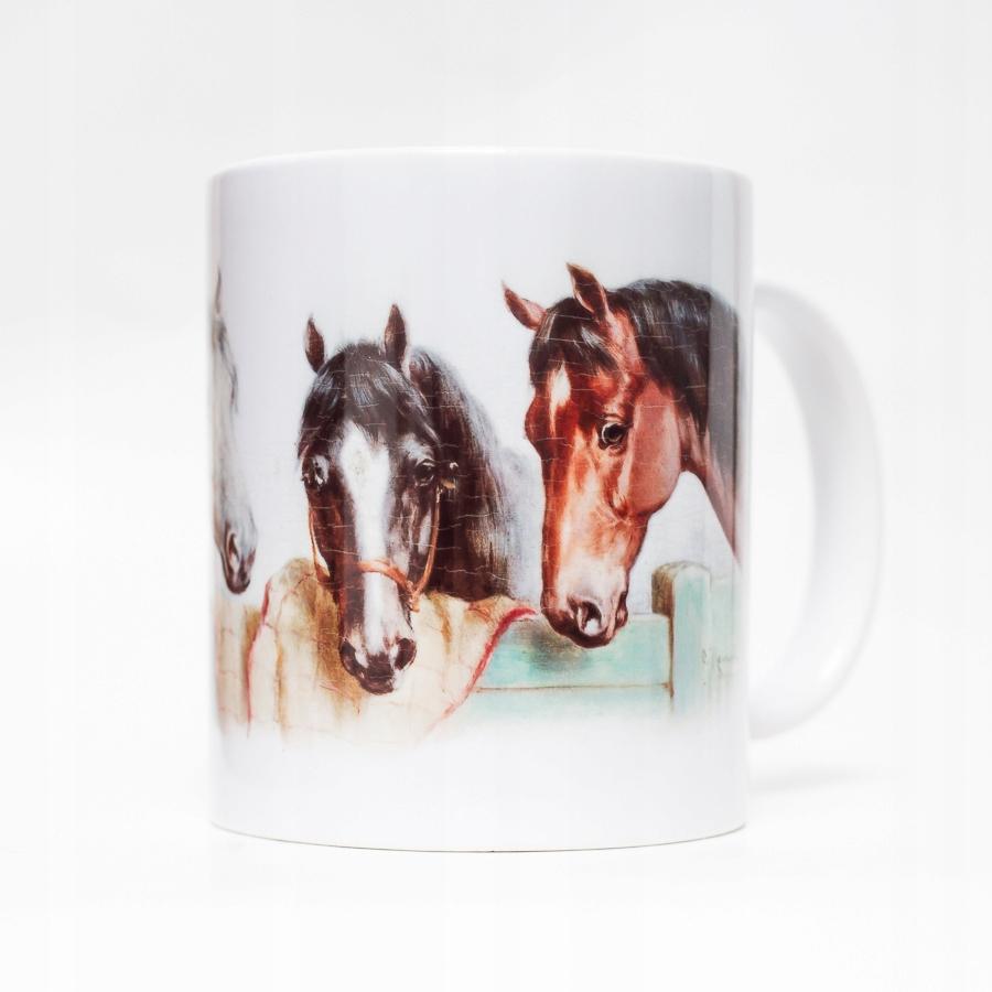 Hrnček s koňom Ročníka, jazda na koni Retro Kôň