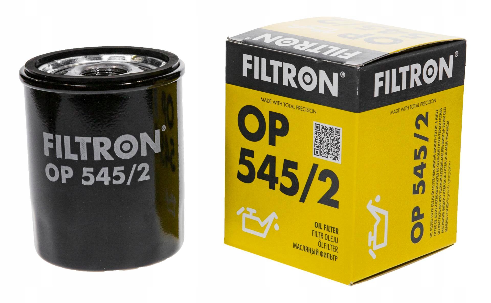 фильтр масла filtron кол-во в упак 5452