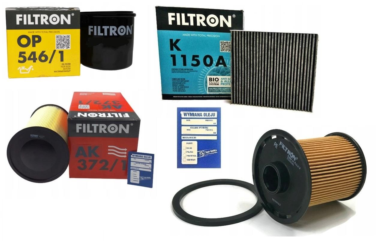 ford focus mk2 fl 18 tdci комплект фильтры filtron