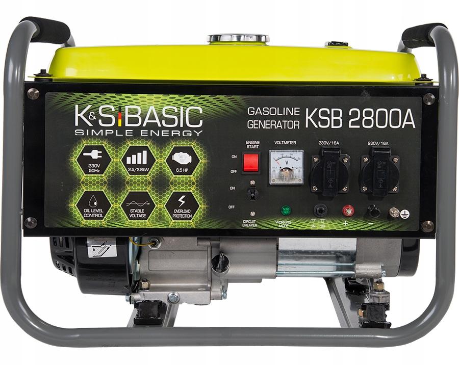 Agregat prądotwórczy 2,5 kW K&S KSB 2800A