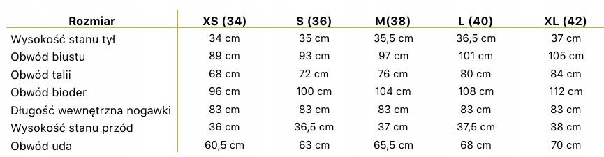 EFEKTOWNY KOMBINEZON w stylu HISZPAŃSKIM 36 S