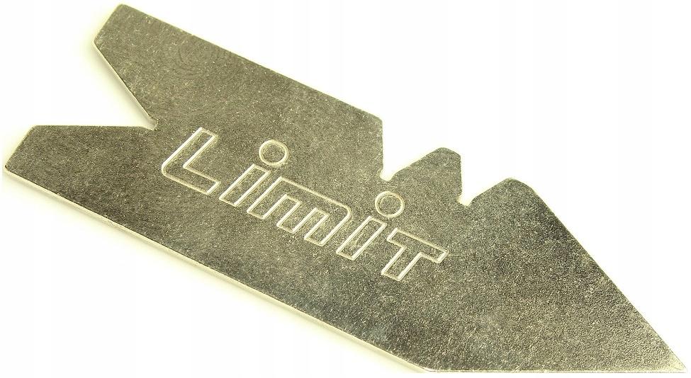 Wzornik - sprawdzian do noży tokarskich LIMIT 60
