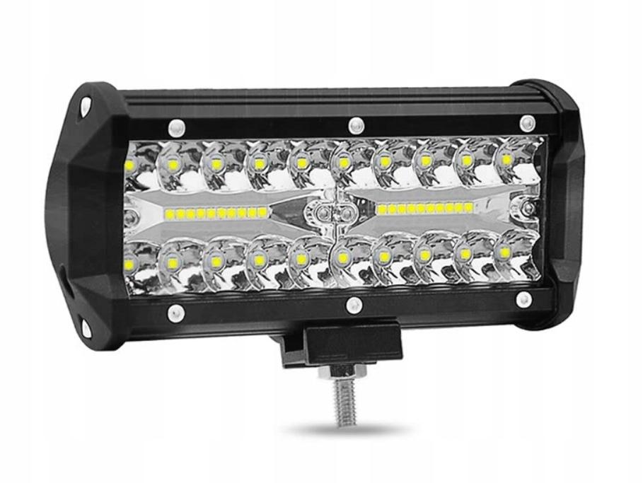 панель led лампа рабочая галоген 120w 12-24v cree