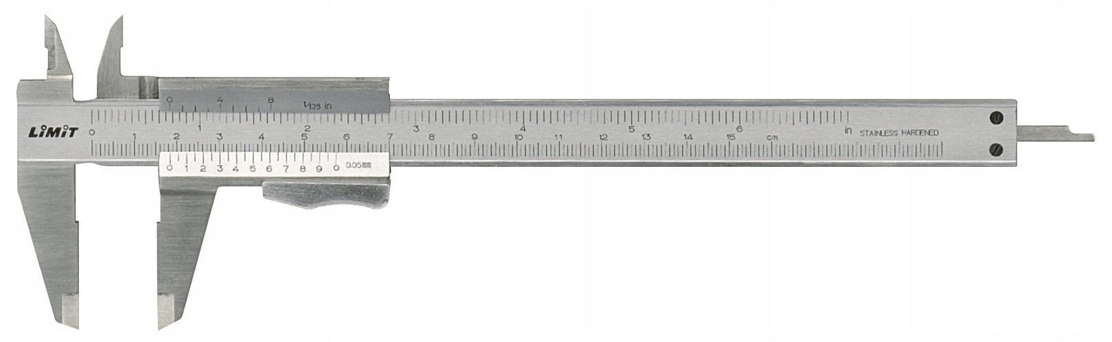 LIMIT Suwmiarka analogowa 150 mm 4-funkcje