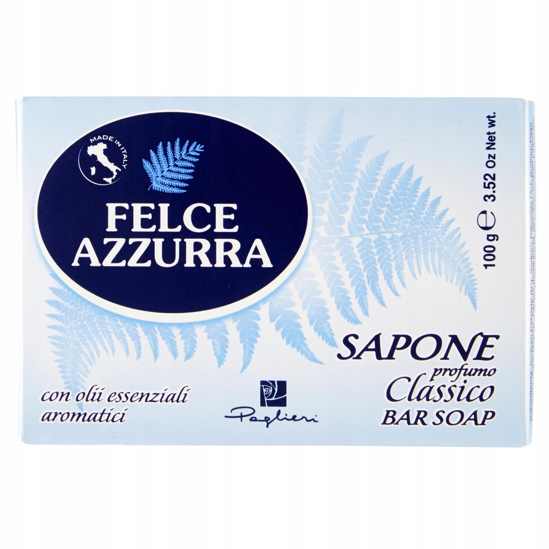 Итальянское мыло с нежным Felce Azzurra Классико 100г