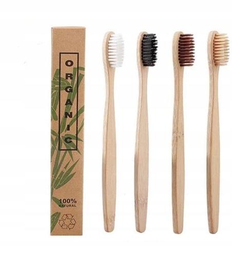 szczoteczka bambusowa eko bio do zębów wybielanie
