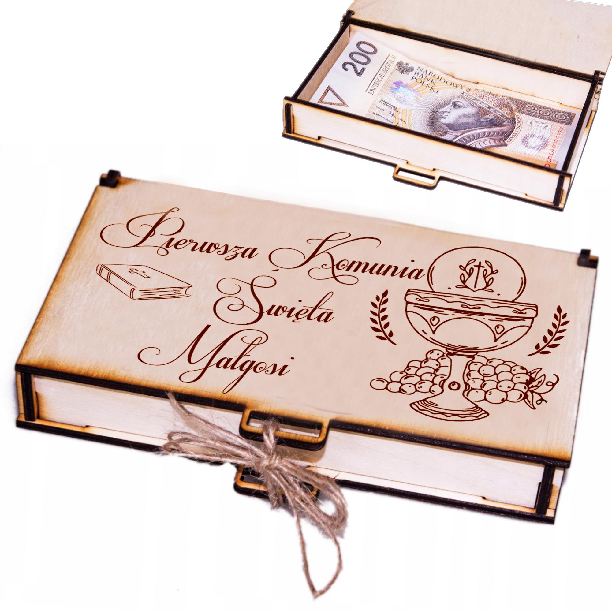 Деньги подарочные коробки Grawer Причастие