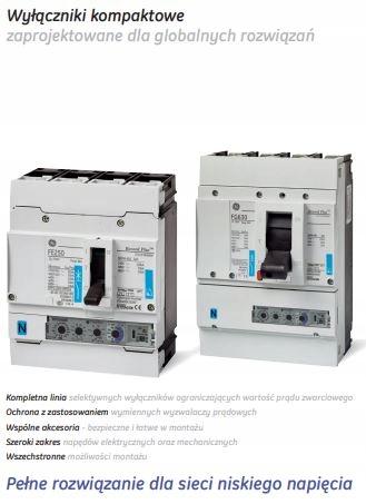 Купить выключатель мощности 160A 3p Record Plus GE FEN306F160JF на Otpravka - цены и фото - доставка из Польши и стран Европы в Украину.