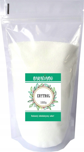 Item ERYTROL 1kg SUGAR low CALORIE Erytrytol 1000g