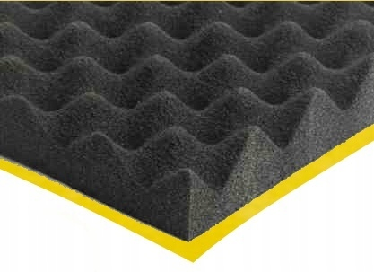 Item ACOUSTIC FOAM PAD self ADHESIVE 200x100 3 cm