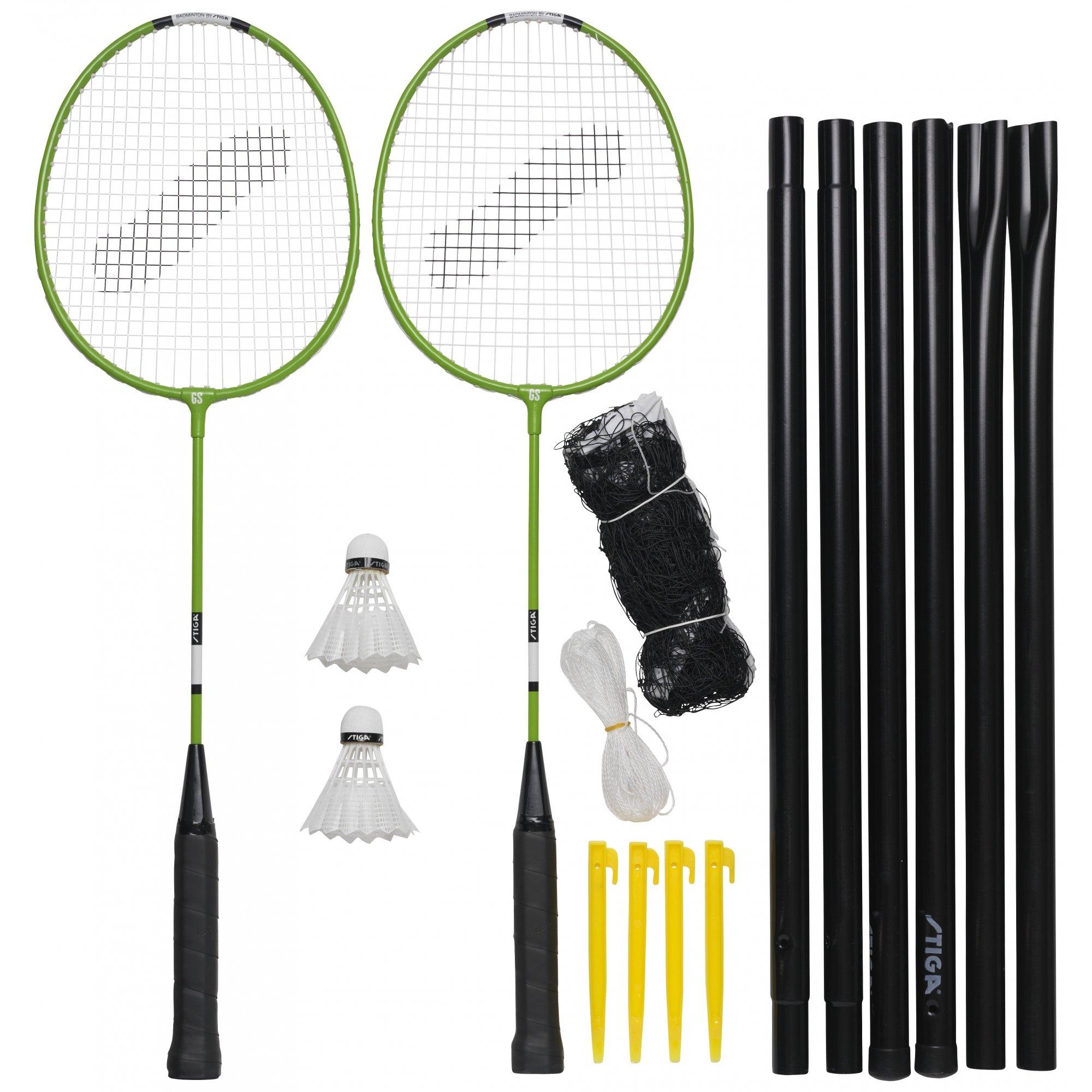 Badminton Stiga Garden Gs, Stiga Comet Kit