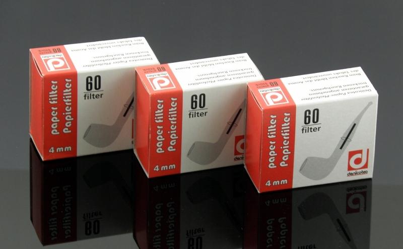 Фильтры Denicotea для трубы 4 мм-60 штук