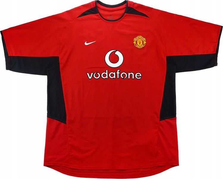 T-tričko MANCHESTER UNITED 2002/2003 - Retro-rok. XL