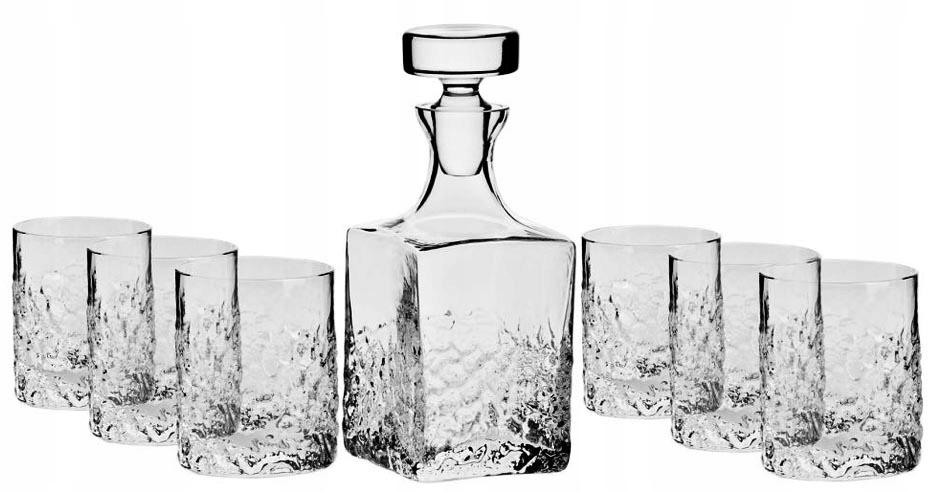 Sada na whisky - karafa + poháre KROSNO Teroso