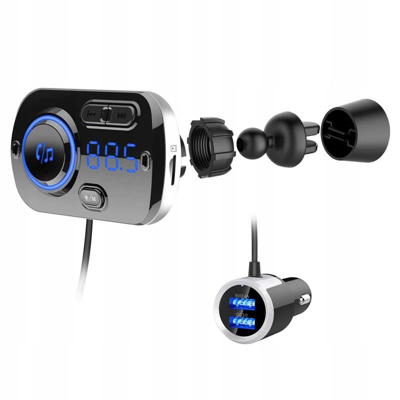 [Многофункциональный FM-ПЕРЕДАТЧИК 2x USB BLUETOOTH MP3]изображение 1