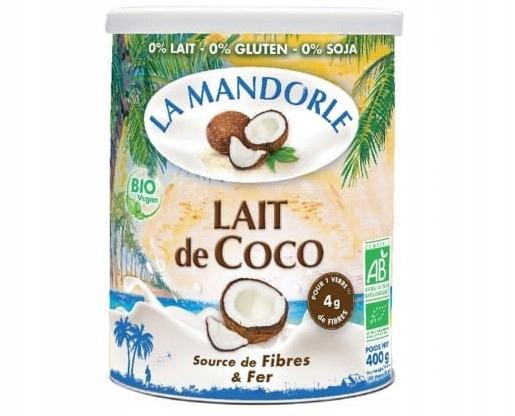Nápoj kokosový prášok 400 g La Mandorle