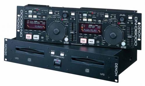Item Denon DN-D6000 CD/MP3 + COVER!