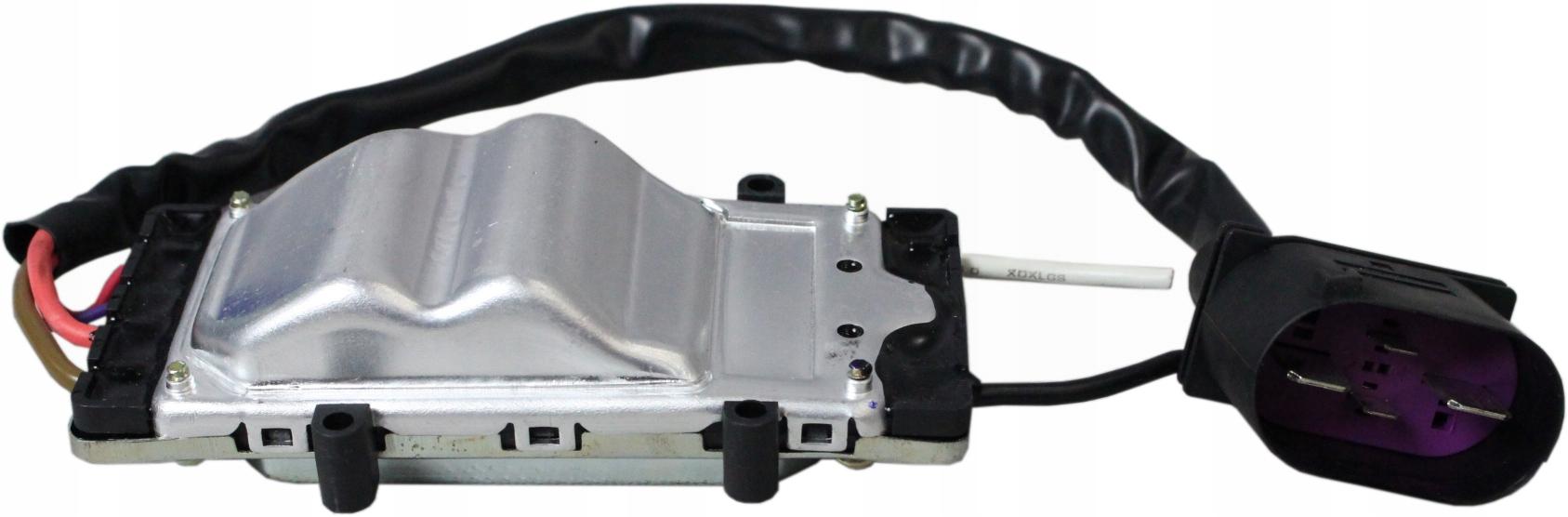 audi a6 04-11 модуль управляющий вентилятора правый