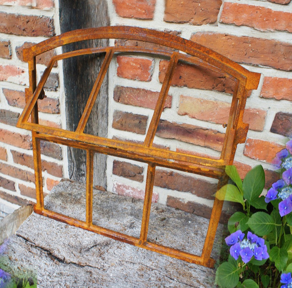 NOVÉ okná, liatinové skladacie retro 55x57cm
