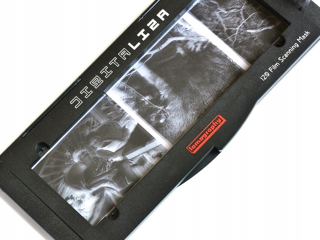 Lomography Digitalýza 120 Skenovanie skenera