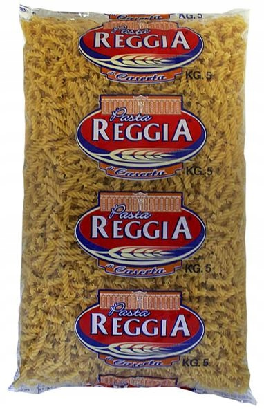 Makaron Pasta Reggia świderki 5kg WŁOSKI