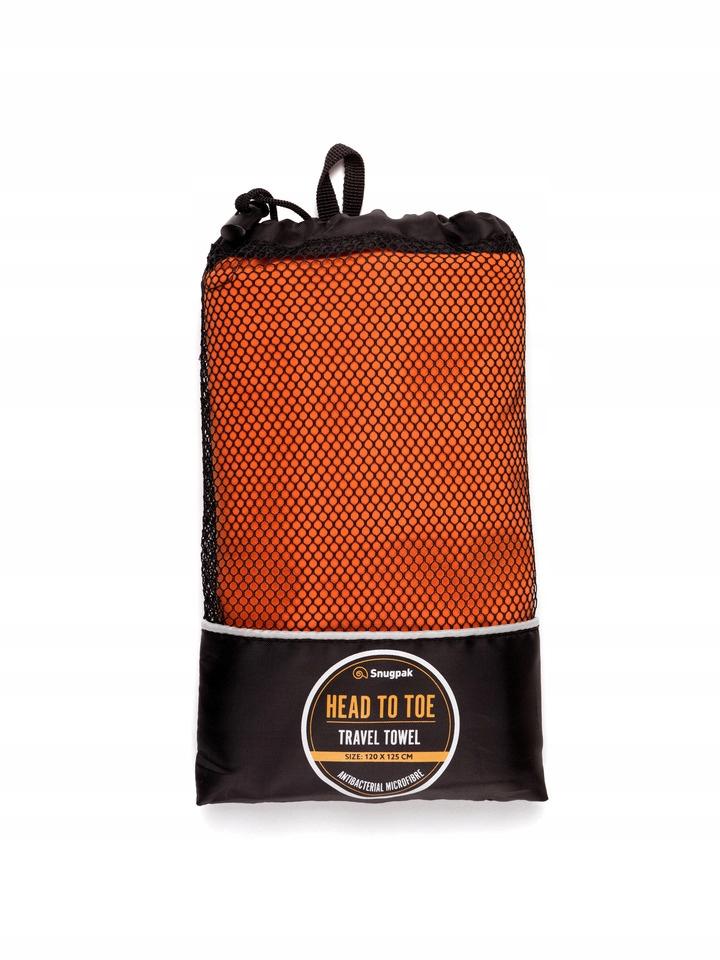 Rýchle sušenie uterákov 120 x 125 cm SNUGPAK orange